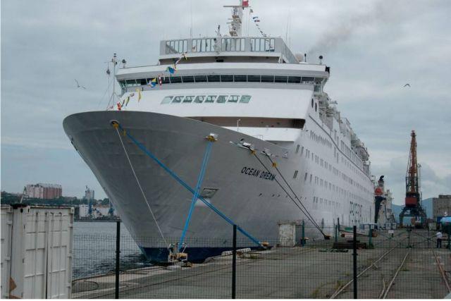 2017 год по заходам круизных лайнеров стал рекордным для Приморья.