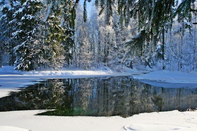 Морозы пришли в Иркутскую область.