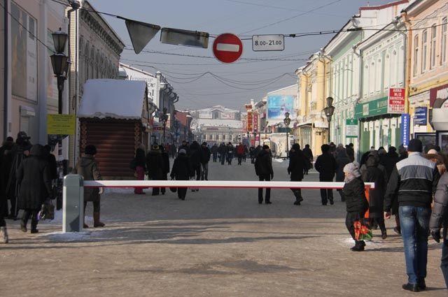 Улица Урицкого.