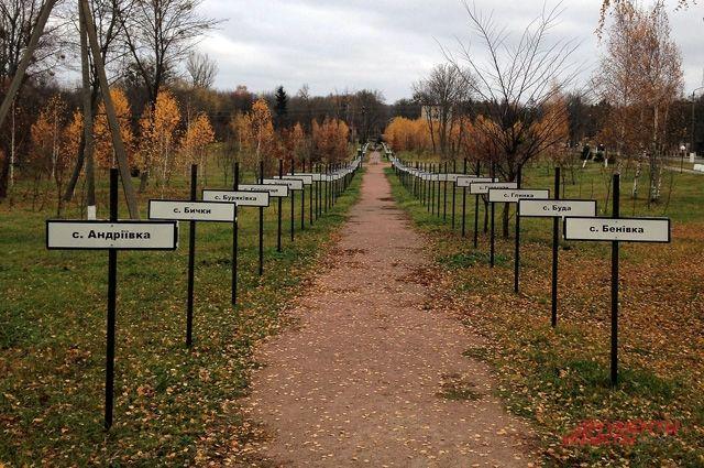 От последствий чернобыльской аварии пострадали свыше 200 населённых пунктов. Многие из них исчезли навсегда.