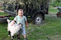 Общение с животными детям только на пользу.