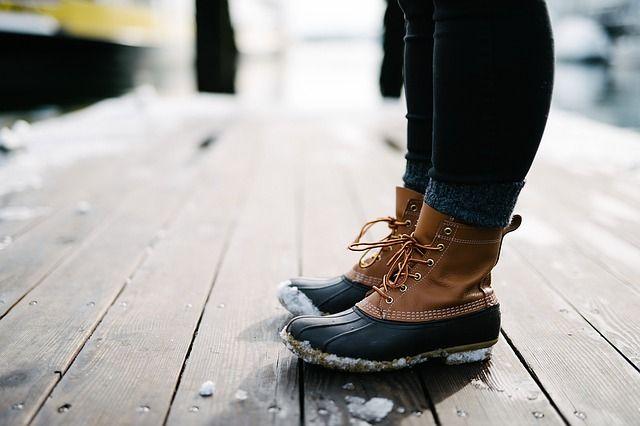Грамотно подобранная обувь застрахует от падений.