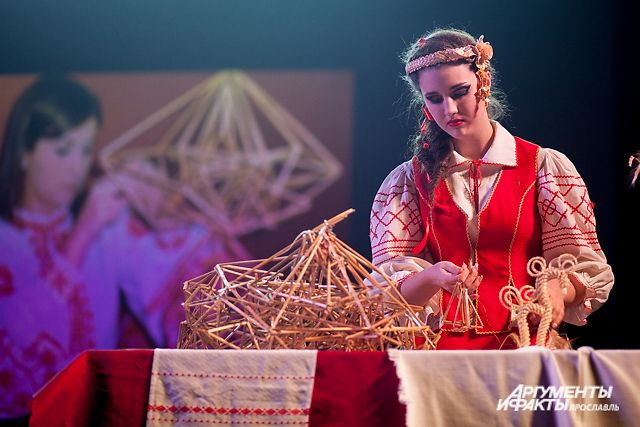 Звание «Мисс «Ассамблея народов России» завоевала Татьяна Ковина, выступавшая от белорусской диаспоры.