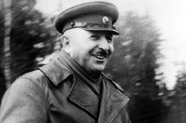 Иван Христофорович Баграмян, генерал-майор. 1941 год.