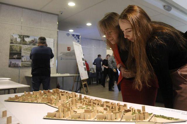 Выставка проектов экспериментальных площадок реновации.