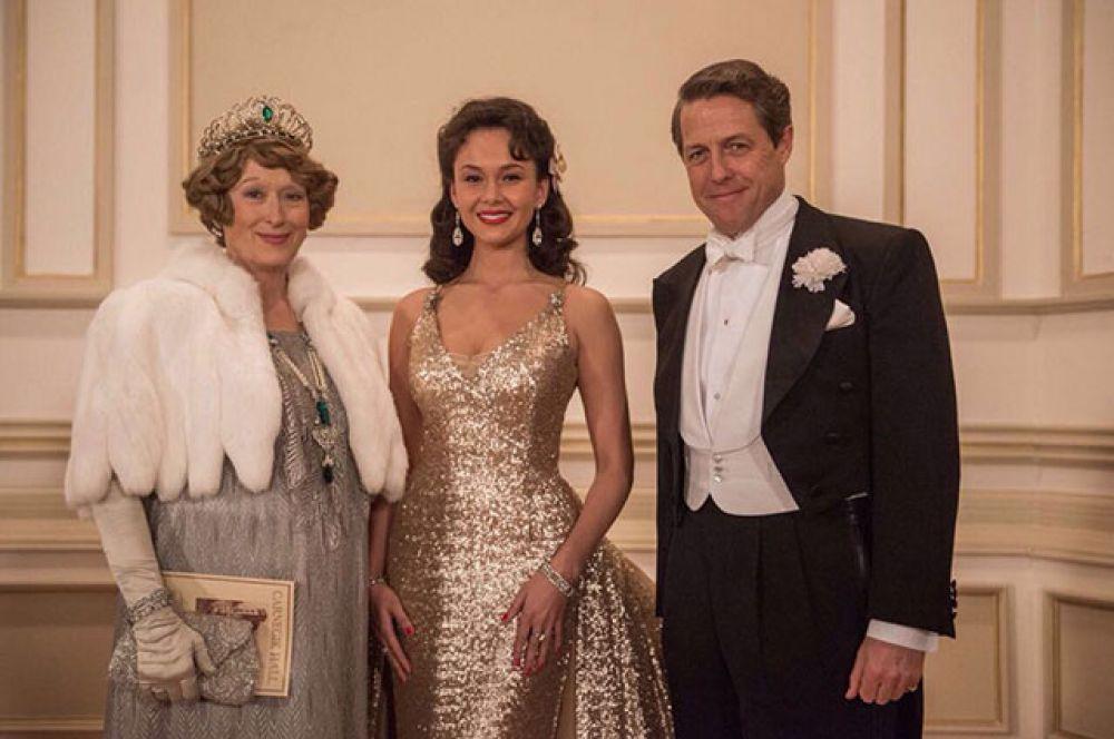 Аида Гарифуллина сыграла небольшую роль в фильме «Флоренс Фостер Дженкинс» с Хью Грантом и Мэрил Стрип.