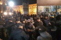 Полиция отпустила всех задержанных в стычке под АП