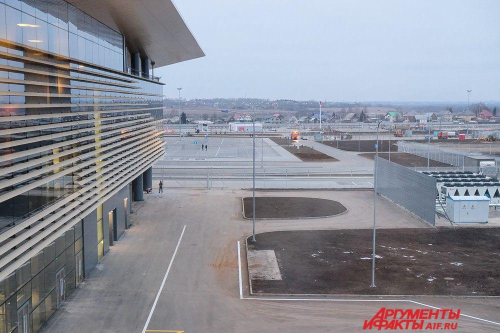 В ноябре этого года по результатам интернет голосования аэропорт назвали «Терминал Большое Савино».