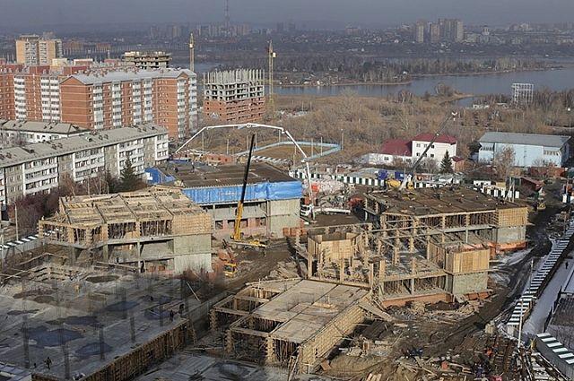 Школа №19 в Академгородке.