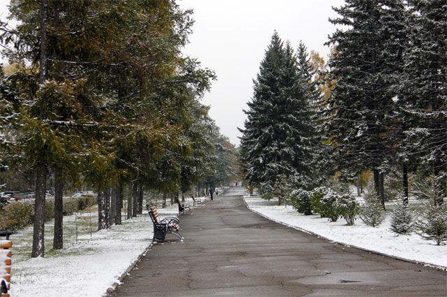 Снег пройдет в Иркутске.