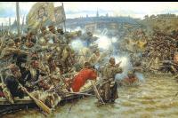 Осваивали Сибирь вольные люди.