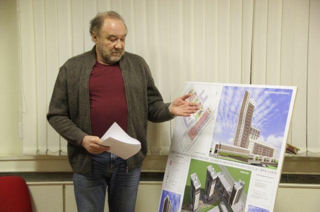 Наместе недостроя наМосковском проспекте могут появиться жилые дома