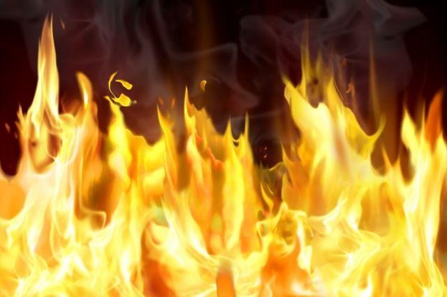 ВОдесском супермаркете произошел пожар