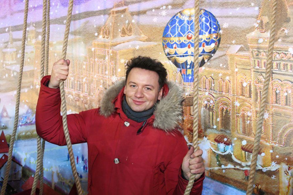 Актер театра и кино Александр Олешко.