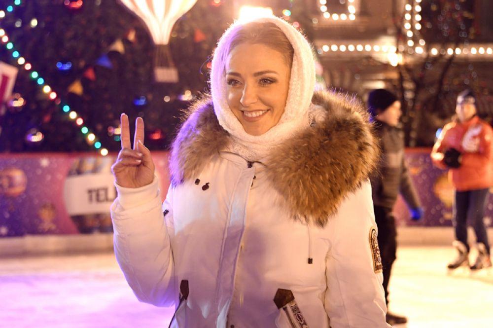 Телеведущая, олимпийская чемпионка по фигурному катанию Татьяна Навка.