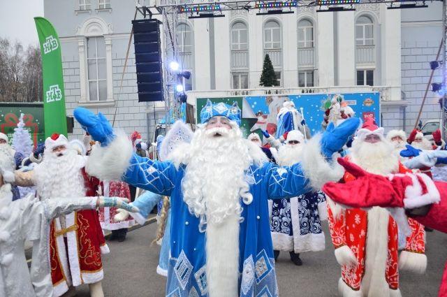 Всероссийский Дед Мороз приезжает в Нижний Новгород.