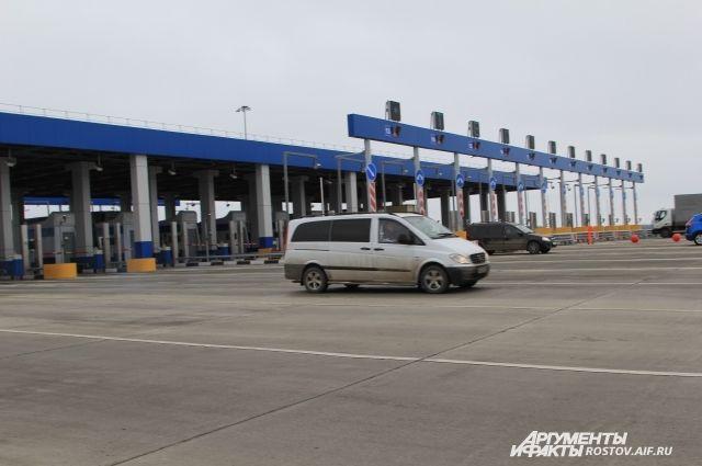 Стоимость проезда для сельских жителей Ростовской области на платном участке М-4 составит один рубль туда и обратно.