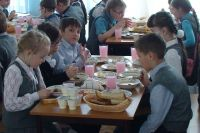 Перед отравлением ученики пообедали в школьной столовой.