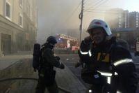 МЧС: в Оренбурге на пожаре в ТК «Любимый» никто не пострадал.