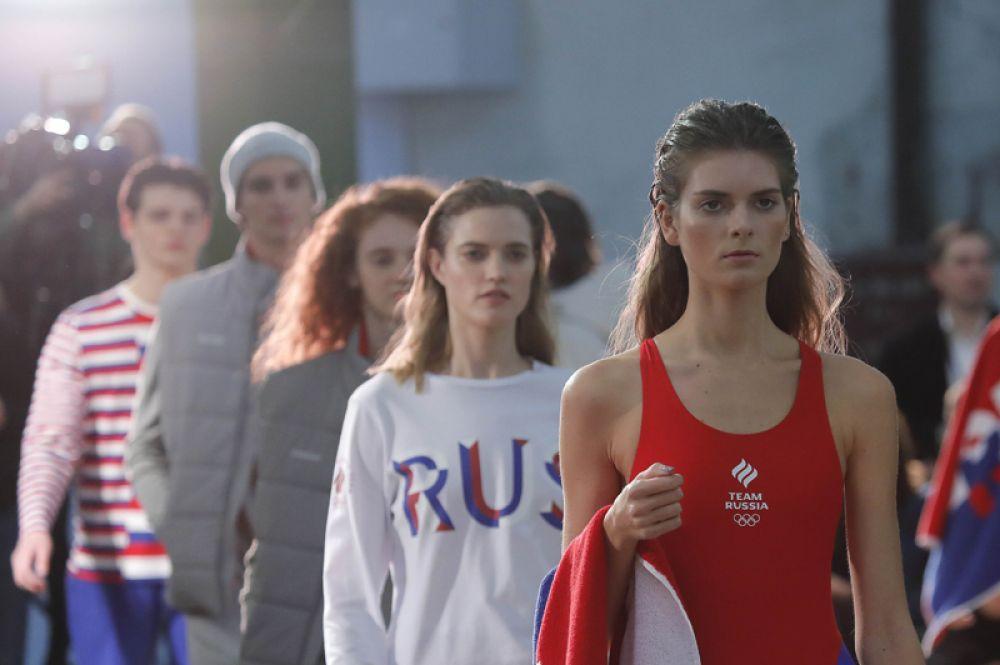 29 ноября. В Москве состоялся показ олимпийской формы сборной России для зимних Игр в Пхенчхане.