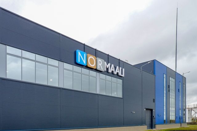 Сегодня вМоглино открылся завод финской компании Nor-Maali