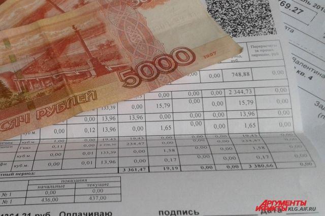 Депутаты предложили сохранить компенсации на ЖКУ для некоторых должников.