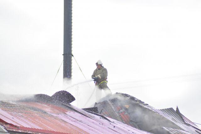 Женщины не смогли выбежать из горящего дома.