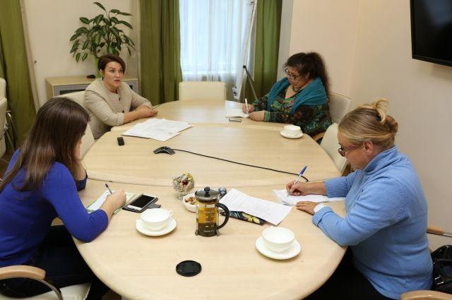 В Новосибирском отедлении Сбербанка состоялась встреча с журналистами
