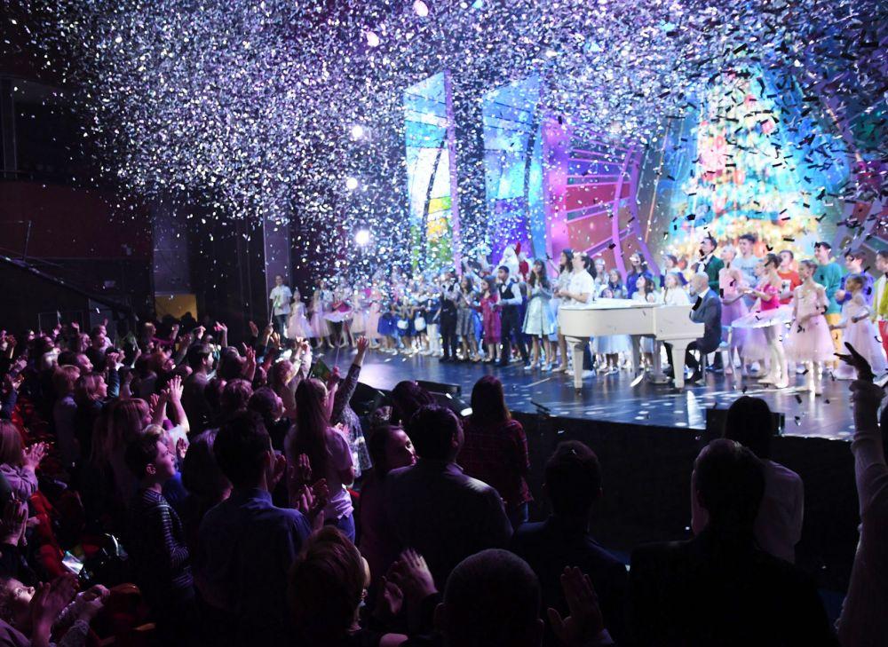 Презентован проект был 30 ноября масштабным гала-концертом.