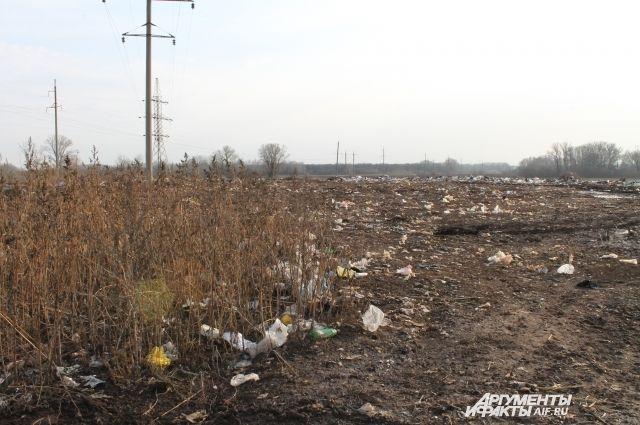 . На хуторе Степановском борются с мусорным полигоном.