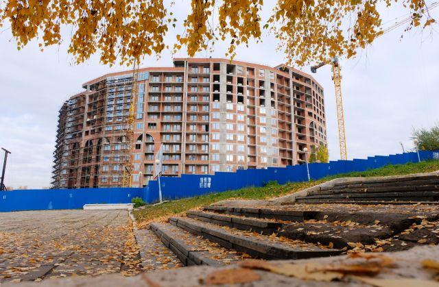 Жилой комплекс «Колизей» в Ижевске, вид со стороны эспланады.