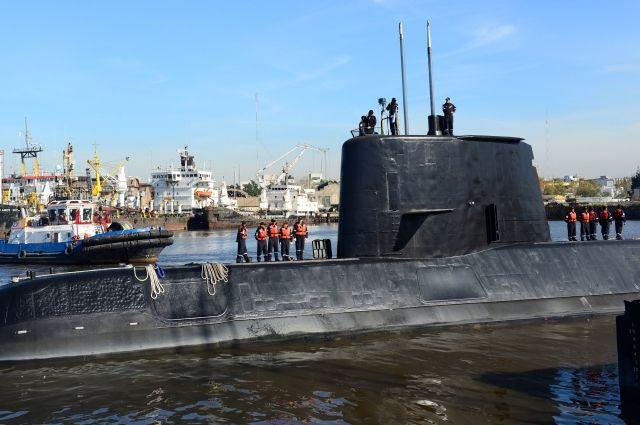 Профессионалы ВМФ РФ направились напоиски пропавшей подлодки San Juan