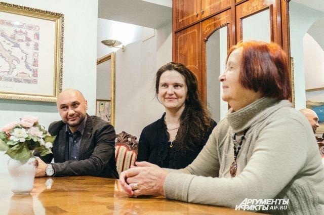 Потомки Николая Лобачевского приехали в Казань на празднование 225-летия со дня рождения ученого.