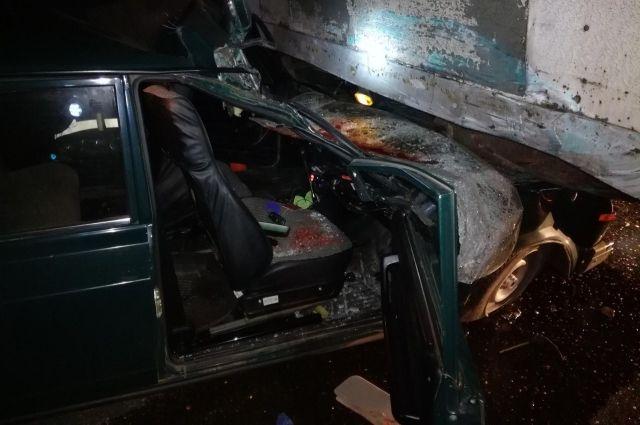 Под Мценском неразъехались ВАЗ и«Вольво»— рискованная дорога