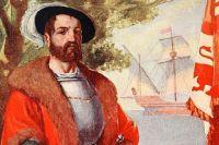 Идеализированный портрет Кортеса. Иллюстрация М. Коксхэд, 1909 год.