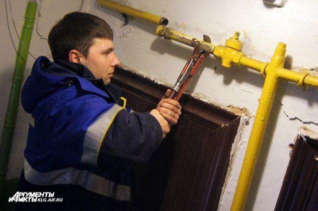 Более 1700 калининградцев отключат от газа за долги.