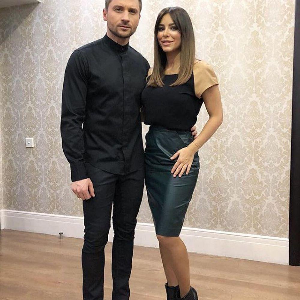 Кроме того, Ани Лорак вставила фото в сети со своим другом Сергеем Лазаревым, которй также побывал на шоу получил награду.