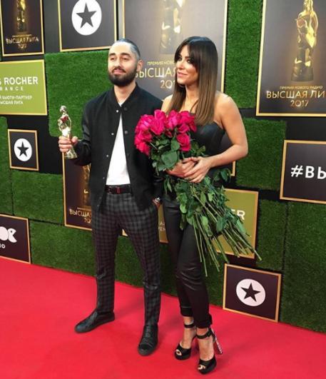 Ани Лорак получила премию за дуэт с рэпером Мотом.