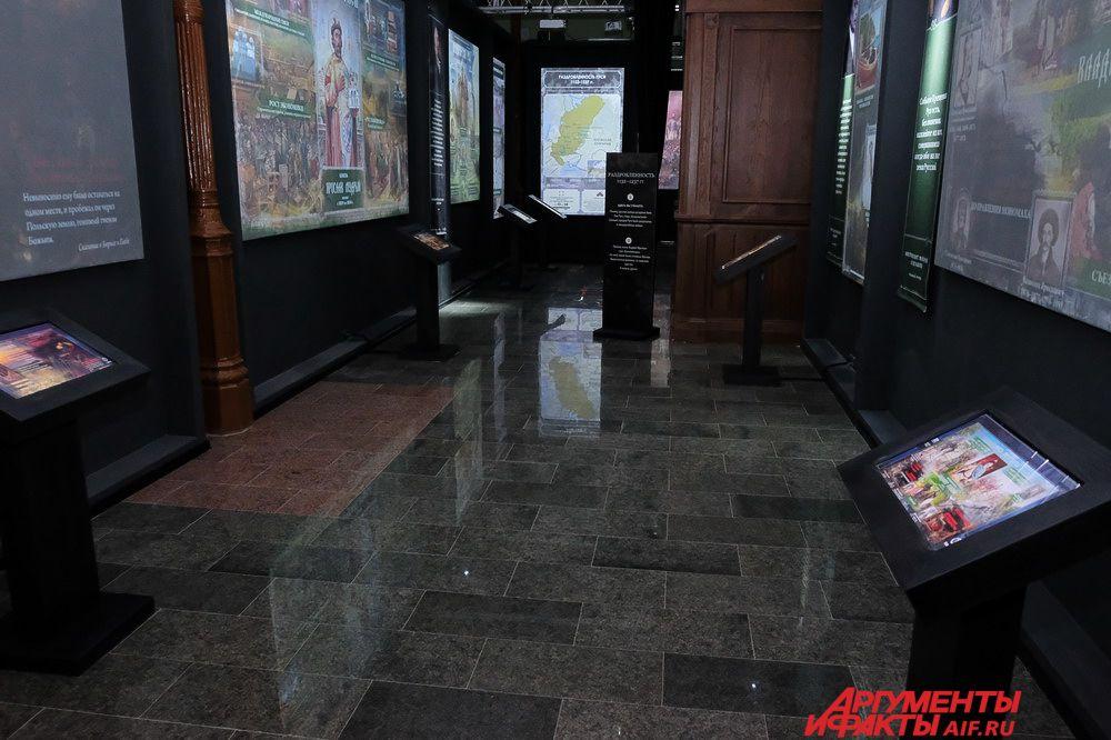 1 декабря в отреставрированном историческом здании железнодорожного вокзала Пермь I  состоялось тестовое открытие мультимедийной выставки «Россия – Моя история».