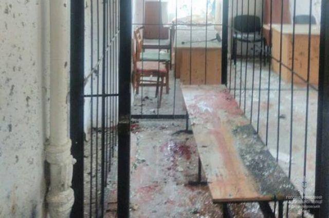 В Никопольском суде, где произошли взрывы, не работал металлоискатель