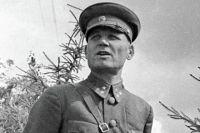Командующий 19-й армии Западного фронта генерал-лейтенант Иван Степанович Конев. 1941 г.