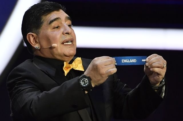 С легкой руки Диего Марадоны Россия попала в группу, из которой реально выйти.
