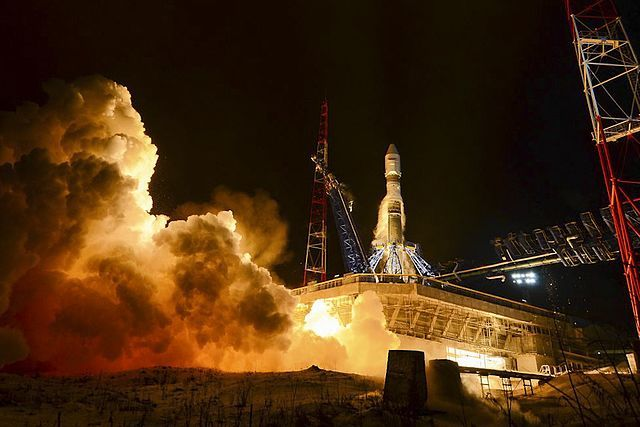 Ракета-носитель «Союз-2.1б» вывела на орбиту спутник Минобороны