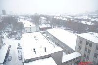 Как сообщает гидрометцентр, снег будет идти в Перми ещё несколько дней.