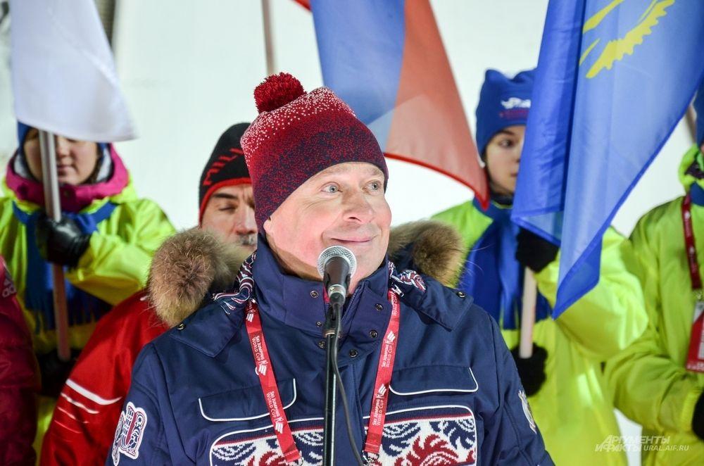 Вице-губернатор Свердловской области Алексей Орлов.