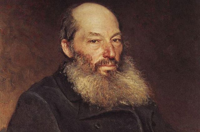 Афанасий Фет. Фрагмент портрета работы Ильи Репина, 1882 год.