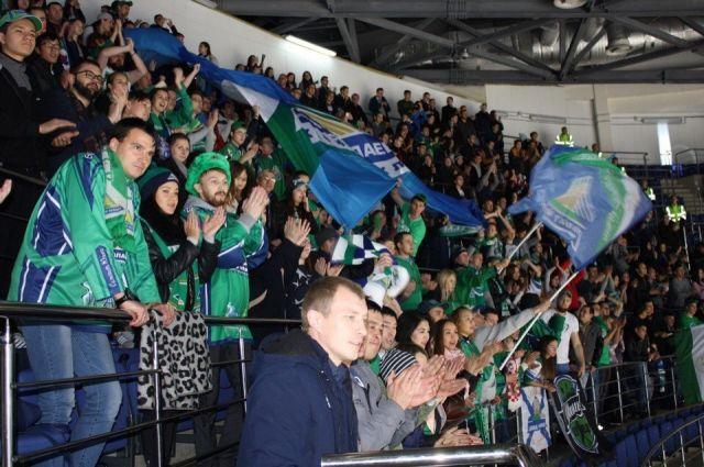 «Салават Юлаев» насвоем льду обыграл столичное «Динамо»