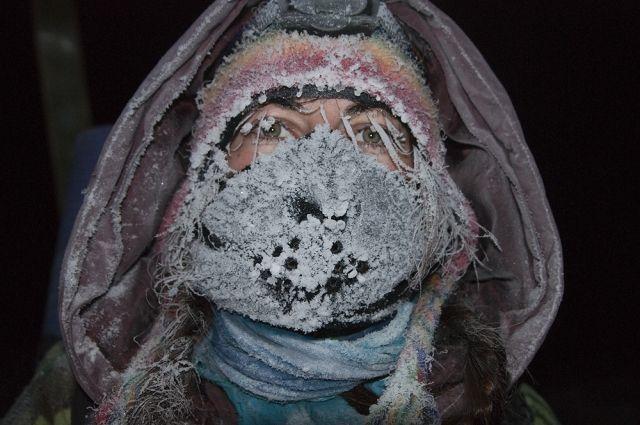 В мороз одеваться нужно многослойно.