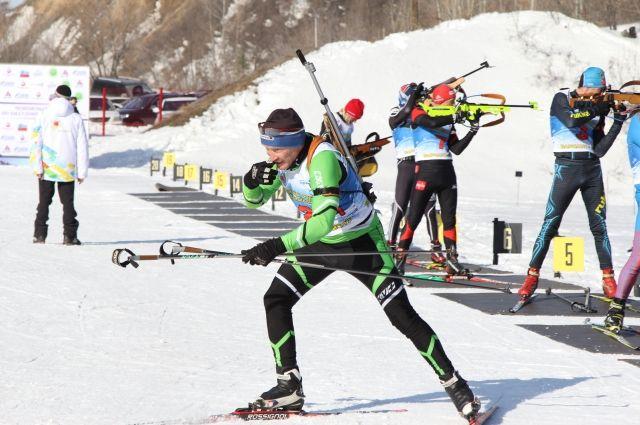Биатлонистки изМордовии стали первыми вэстафете наКубке РФ