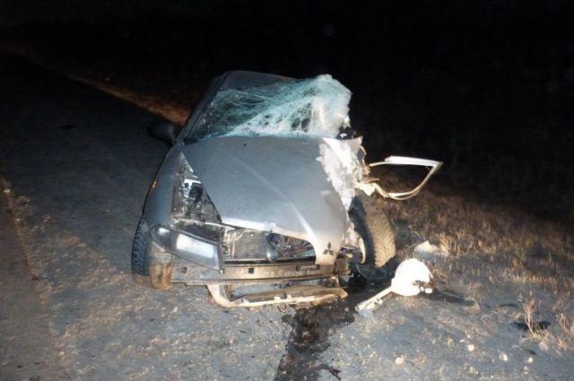 5 человек пострадали вДТП натрассе Самара— Оренбург